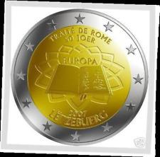 2 EURO Luxemburg 2007 Luxembourg * Traité verdrag Rome