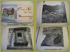 EXEMPLAIRE UNIQUE-Les Mascareignes-La Réunion-Les Comores-Album / 57 photos-1961