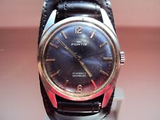 Vintage Men's watch Fortis 17 jewels Swiss Made 1980 s