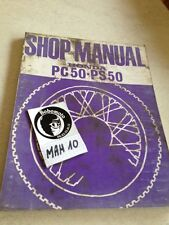manuel atelier cyclomoteur Honda PC PS 50 PC50 PS50 Shop manual éd. 68
