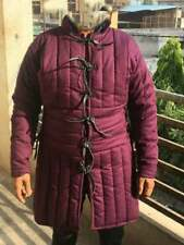 New Purple Thick Padded Gambeson Movies Theater Custome Sca44444444444444444444