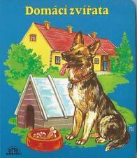 Domáci zvírata Haustiere Bilderbuch auf Tschechisch Mag. R. Mazal + J. Vasickova