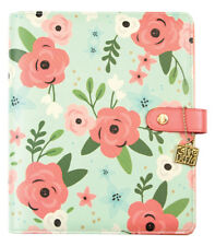 Simple Stories Carpe Diem A5 Planner Mint Blossom, planner only