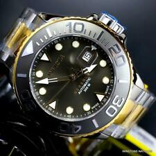Invicta Reserve Grand Diver Swiss Made Automatic 2 Tone 50mm Charcoal Watch New