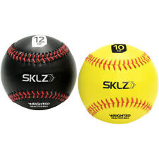 SKLZ Weighted Baseballs 2-Pack - Black/Yellow