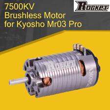 Rocket MINI 7500KV Brushless Motor for Kyosho Mr03 Pro DRZ 1/28 1/24 1/32 RC Car