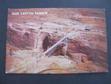 Glen Canyon Damsite Arizona US Postcard