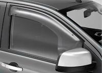 MAZDA BT50 DC WEATHERSHIELD RH & LH combo STD New Genuine 2011-2015 accessories