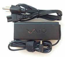 Original  Genuine OEM Sony 90W AC Power Adapter for Sony Vaio VPCSC1AFM Notebook