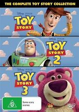 Toy Story / Toy Story 2 / Toy Story 3 (DVD, 2010, 3-Disc Set)
