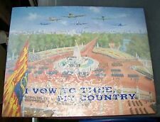 I VOW TO THEE, MY COUNTRY. ROYAL STAR & GARTER HOME. PAINTINGS. 21 SIGNATURES