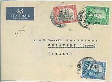 BOATS  SHIP : POSTAL HISTORY  - ADEN : AIRMAIL COVER to ITALY 1951
