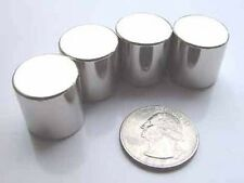 """MAGNETS with TEETH! 4 Neodymium RODs 3/4"""" only $6 each"""