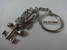 IndyCar Keychain Chrome Key Ring Indianapolis 500 Cart IRL