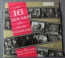 Jean Claudric et son orchestre, les 16 boums du film Français, LP - 33 tours