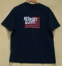 Red white & Levi's t-shirt by Levi's, 100% cotton, size M(U.S)