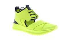 Puma Fenty Avid 36768203 Mens Green Mesh Lace Up Low Top Sneakers Shoes