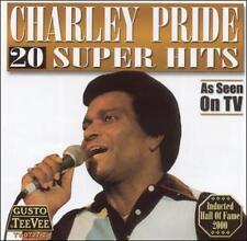 "CHARLEY PRIDE, CD ""20 SUPER HITS"" NEW SEALED"
