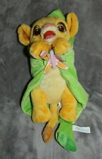 Disney Babies Baby Simba Plush Wrapped In A Leaf Blanket Disneyland Parks Doll