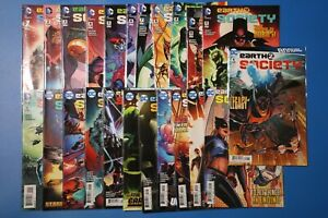 DC Comics EARTH 2 SOCIETY #1-22, Annual #1 JSA Justice Society DAN ABNETT