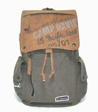 CAMP DAVID Rucksack Oliv US Pacific Route