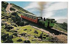 Snowdon Mountain Railway Narrow Gauge Funicular Loco & Single Carriage, Unposted