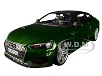 AUDI A5 RS5 COUPE 1:24 scale diecast model car die cast models toy RS 5 Green