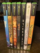 7 Game XBOX Lot! Great Games! Simpsons, Blinx, Fable, Harry Potter. See Pics!