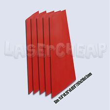 5pcs A4 2.3mm SHEETS OF RUBBER FOR ENGRAVING AND LASER CUTTING MACHINES