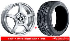 Aluminium Arosa Wheels with Tyres