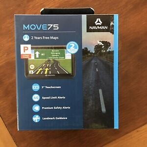 "NEW Navman Move75 Car 5"" 3D GPS Navigation Safety Speed Alerts / Junction Views"