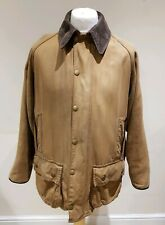 Barbour Beaufort Classic Wax Coat Size 44