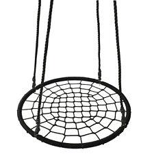 """40"""" Outdoor Garden Spider Web Tree Net Swing Kids Children Round Tire Nest"""