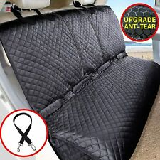 Vailge Bench Dog Car Seat Cover for Back Seat 100% Waterproof Black New 🔥