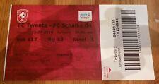 Sammlerticket Ticket Testspiel FC Twente Enschede : FC Schalke 04 Saison 19/20
