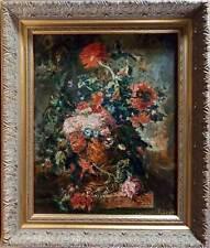 Dutch Flowers - Oil Painting in Frame by artist Oleg Levin
