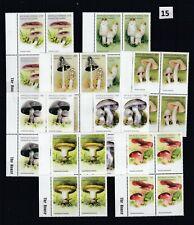 LB 4X COMORES - MNH - FLORA - MUSHROOMS - NATURE