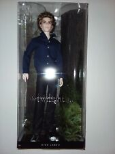 Jasper The Twilight Saga Barbie Collector Pink Label Ken doll Vampire New in Box