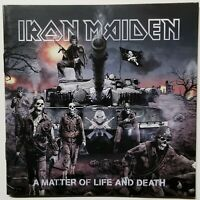 IRON MAIDEN ~A Matter of Life and Death *CD* ~HEAVY METAL ~Different World+ ~VGd