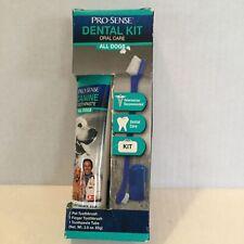 ProSense Dental Kit Oral Care Pet Toothbrush, Finger Brush and Toothpaste