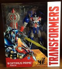 Transformers Age Of Extinction AOE Leader Optimus Prime 100% Complete