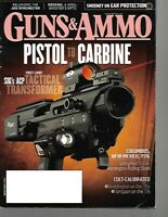 Guns & Ammo Handguns Magazine November 2012 Sig's ACP Tactical Transformer