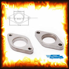 35mm 38mm External Wastegate Exhaust Turbo Turbocharger Flange Steel Tial