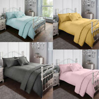Luxury Bedding Set Pinsonic Easy Care Quilt Duvet Cover Set & Pillowcases