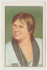 1976 Portugese Olympic Games Sticker Stamp Australian Swimmer Shane Gould #186