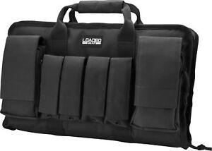 Barska Loaded Gear RX-50 16� Black Tactical Pistol Gun Range Bag Case, BI12262