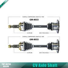 2x Front Left Right Surtrack Cv Axle Shaft For 03-06 Cadillac Escalade ESV CU21