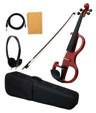 Professional Electric Violin 4/4 Taille GIG BAG Bow Cable épinette fini mat Set