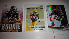 FOOTBALL ROOKIE CARDS, SUPER LOT TO PICK 20 FROM, TOP OF THE LINE