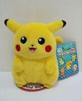 """Pikachu Pokemon Banpresto 2001 Magnet Plush 6"""" TAG Toy Doll Japan"""